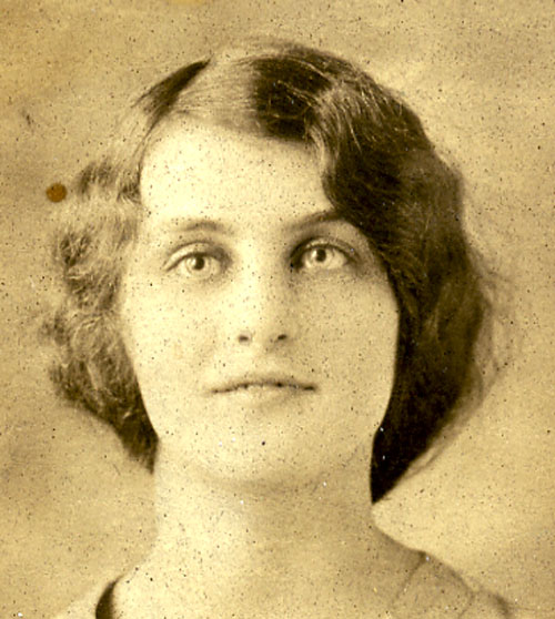 Hilda in the 1920's