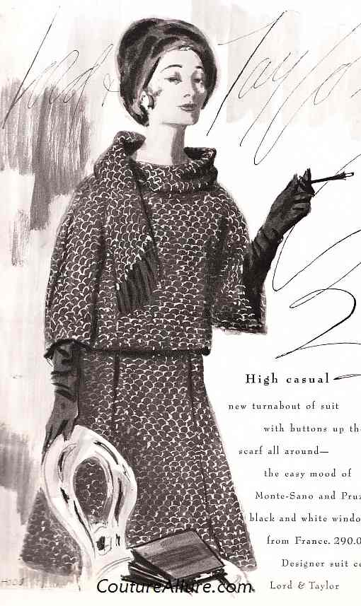 Drawing by Dorothy Hood for Lord & Taylor