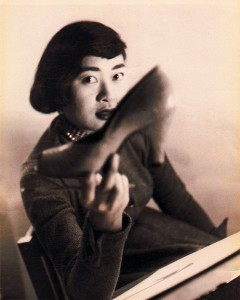 Portrait of Mary Suzuki. Photographer unknown. Isn't this great?