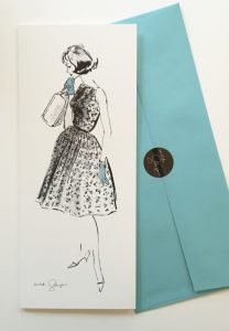 Susanna Card with Envelope